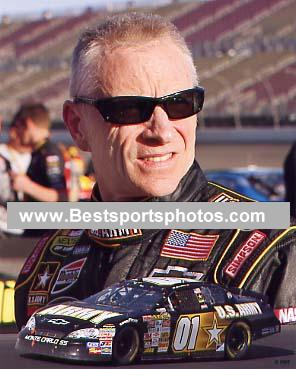 Mark Martin 2007 Composite 8X10 Photo