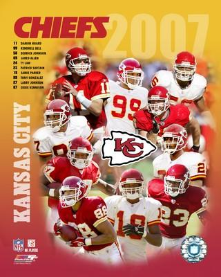 Chiefs 2007 Kansas City Team 8X10 Photo
