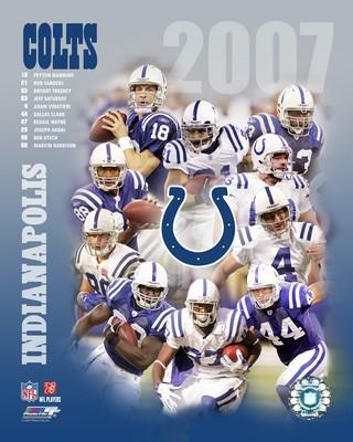 Colts 2007 Indianapolis Team 8X10 Photo
