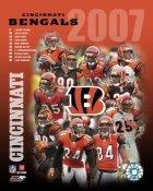 Bengals 2007 Cincinnati Team 8x10 Photo