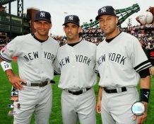 Alex Rodriguez, Jorge Posada, Derek Jeter 2007 All Star New York Yankees LIMITED STOCK 8X10 Photo