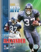 Shaun Alexander 2005 MVP Seahawks 8X10 Photo