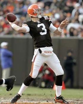 Derek Anderson Cleveland Browns 8X10 Photo