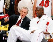 Pat Riley & Shaq O'Neal Miami Heat Limited Stock 8X10 Photo
