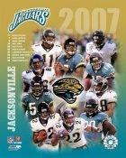 Jaguars 2007 Jacksonville Team 8x10 Photo