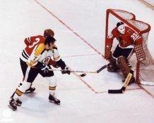 Phil Esposito & Tony Esposito Bruins Blackhawks 8x10 Photo