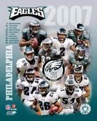 Eagles 2007 Philadelphia Team 8x10 Photo