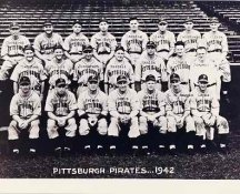 Pirates 1942 Pittsburgh Team Composite 8x10 Photo LIMITED STOCK -