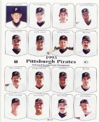 Pirates 1993 Team Composite 8x10 Photo  LIMITED STOCK -