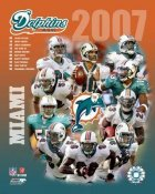 Dolphins 2007 Miami Team 8x10 Photo
