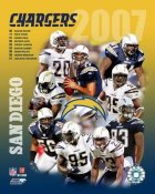 Chargers 2007 San Diego Team 8X10 Photo