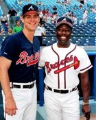 Hank Aaron & Dale Murphy Atlanta Braves 8X10 Photo