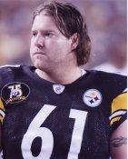 Sean Mahan Pittsburgh Steelers 8x10 Photo