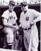 Babe Ruth & Ted Williams 8X10 Photo  LIMITED STOCK