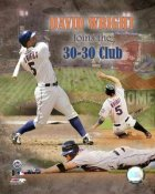 David Wright 30/30 Club LIMITED STOCK Mets 8X10 Photo