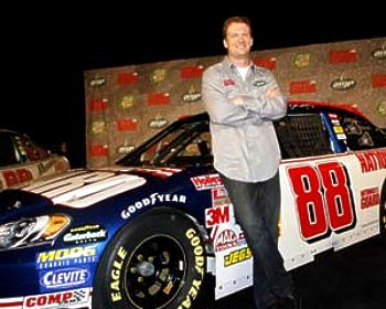 Dale Earnhardt Jr. #88 Car 8X10 Photo