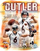 Jay Cutler LIMITED STOCK Composite Broncos 8X10 Photo