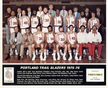 Portland 1975 Trailblazers Team Composite 8x10 Photo LIMITED STOCK