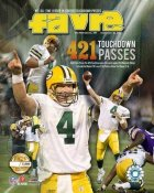 Brett Favre 421 TD Limited Edition 8X10 Photo