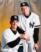 Jorge Posada & Derek Jeter LIMITED STOCK Yankees 8X10 Photo