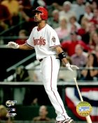 Chris Young 07 NLDS Game 2 LIMITED STOCK D-backs 8X10 Photo
