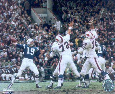 Johnny Unitas Baltimore Colts 8X10 Photo