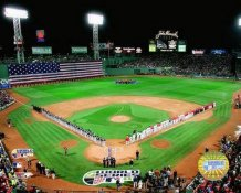 2007 Fenway Park World Series Opening Ceremony Red Sox 8x10 Photo