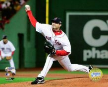 Josh Beckett 2007 WS Game 1 LIMITED STOCK Red Sox 8x10 Photo