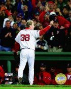 Curt Schilling 2007 WS LIMITED STOCK Game 2 Red Sox 8x10 Photo