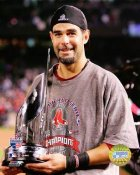 Mike Lowell 2007 WS MVP Trophy Red Sox LIMITED STOCK 8x10 Photo