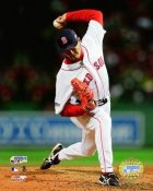 Hideki Okajima 2007 WS Game 2 Red Sox 8x10 Photo