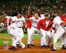 Manny Ramirez 2007 ALDS HR LIMITED STOCK Celebration Game 2 Red Sox 8x10 Photo