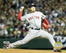 Daisuke Matsuzaka 2007 WS Game 3 LIMITED STOCK Red Sox 8x10 Photo