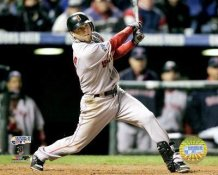 Dustin Pedroia 2007 WS Game 3 LIMITED STOCK Red Sox 8x10 Photo