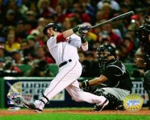 Dustin Pedroia 2007 Major League WS HR Game 1 LIMITED STOCK Red Sox 8x10 Photo