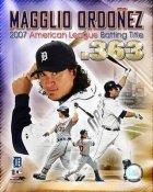 Magglio Ordonez AL Batting Title 2007 Detriot Tigers 8X10 Photo