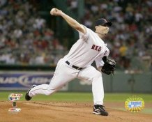 Josh Beckett 2007 ALDS LIMITED STOCK Boston Red Sox 8x10 Photo