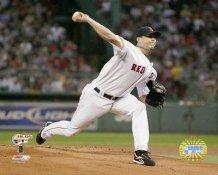Josh Beckett 2007 ALDS LIMITED STOCK Boston Red Sox 8x10 Photo
