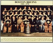 Boston 1969 Bruins Stanley Cup Champion Team 8x10 Photo