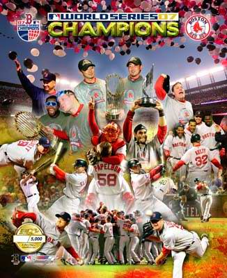 Boston 2007 Red Sox Limited Edition World Series 8X10 Photo