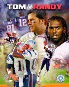 Randy Moss & Tom Brady Patriots LIMITED STOCK 8X10 Photo