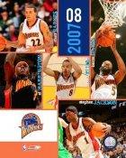Warriors 2007 Team 8X10 Photo