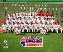 Boston 2007 Team Sit Down World Series Champions LIMITED STOCK Red Sox SATIN 8x10 Photo