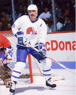 Michel Goulet Quebec Nordiques 8x10 Photo
