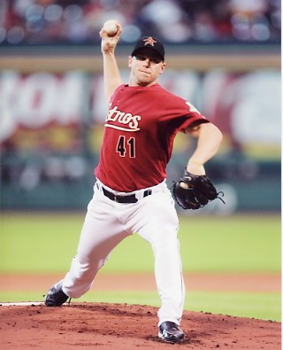 Brandon Backe Houston Astros 8X10 Photo