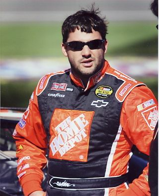 Tony Stewart Home Depot 8X10 Photo