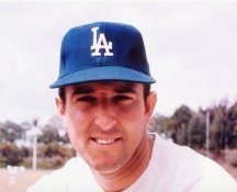 Claude Osteen Los Angeles Dodgers 8X10 Photo