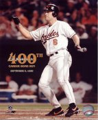 Cal Ripken Jr. Baltimore Orioles 400th Home Run 8X10 Photo