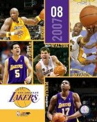 Lakers 2007 Team Composite 8X10 Photo LIMITED STOCK