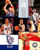 Nets 2007 Team Composite 8X10 Photo LIMITED STOCK